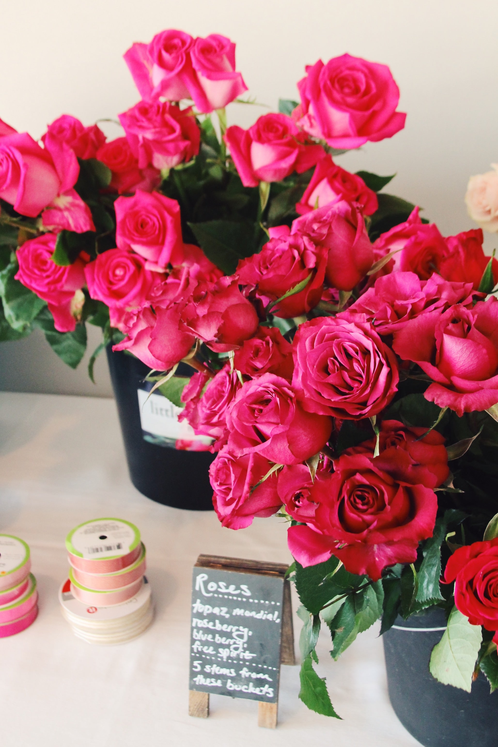 little miss lovely // galentine's day 2020 soiree at bear trap dunes // floral design workshop