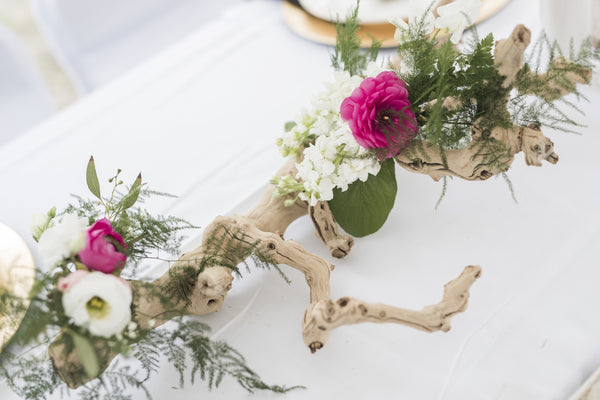 little miss lovely floral design // driftwood