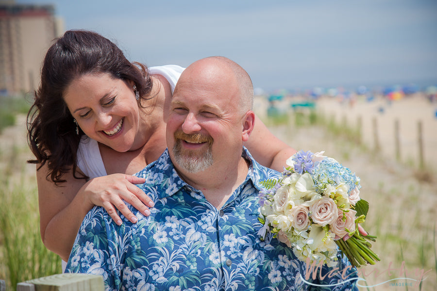 little miss lovely floral design // ivory and blue wedding flowers // ocean city maryland clarion // mccarthy imagerie