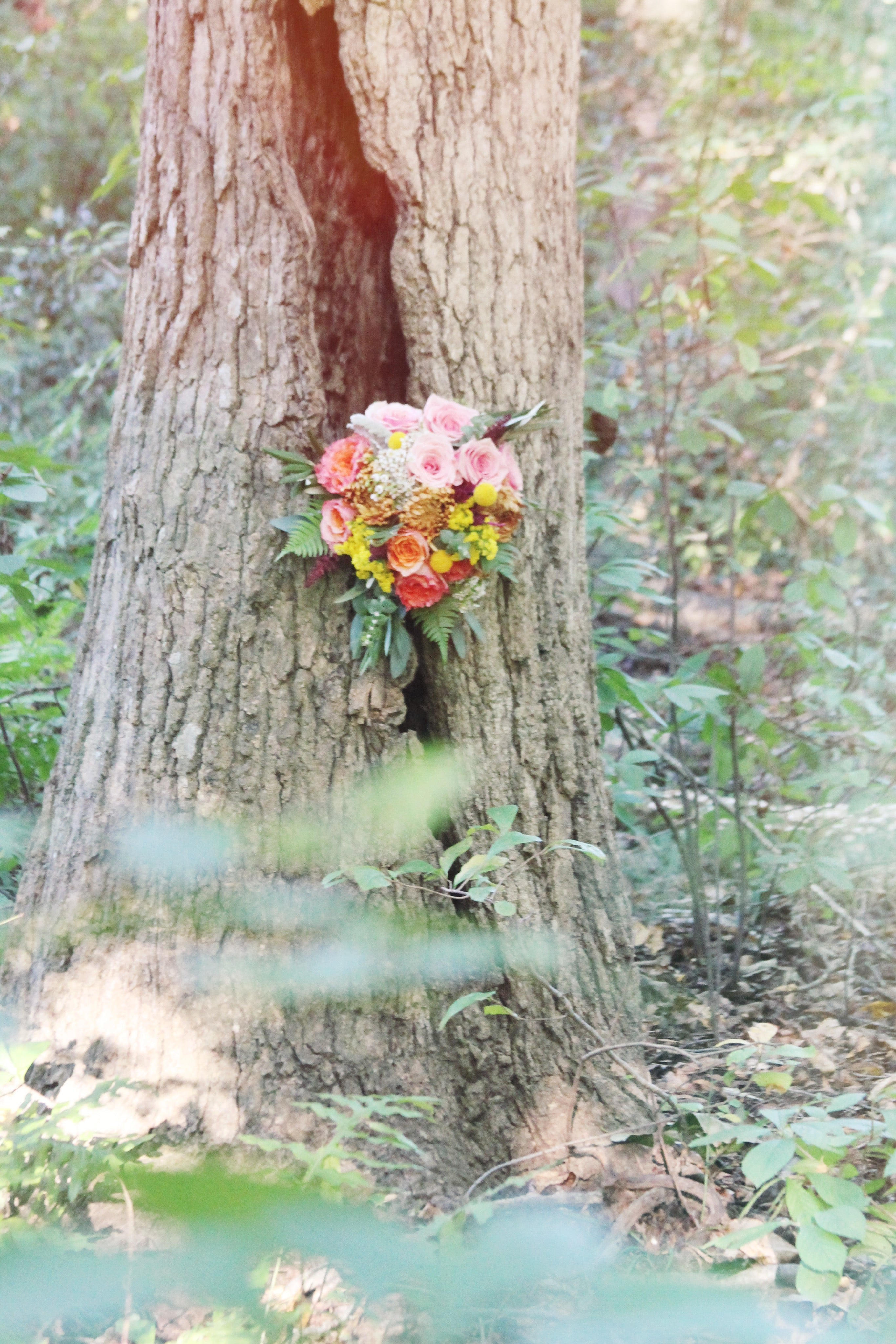 little miss lovely floral design // enchanted forest fairytale wedding inspiration // ocean city maryland wedding florist