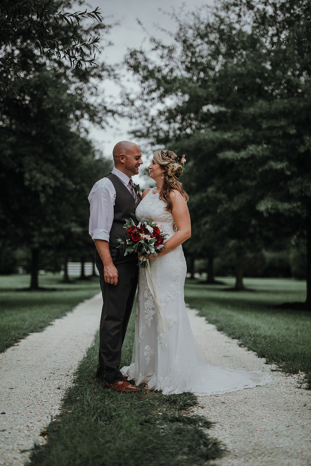 Nate Bittinger Photography // little miss lovely floral design // public landing barn snow hill md wedding // burgundy and ivory fall wedding flowers