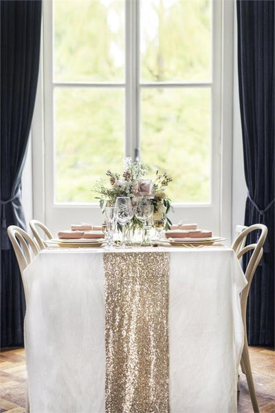 LML Gold table runners
