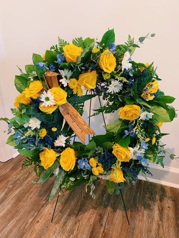 Biodegradable Memorial Wreath