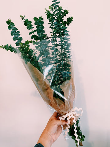 Fresh Eucalyptus Wrapped Bouquet