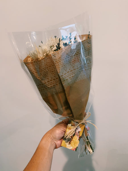 Cream Dried Floral Bouquet