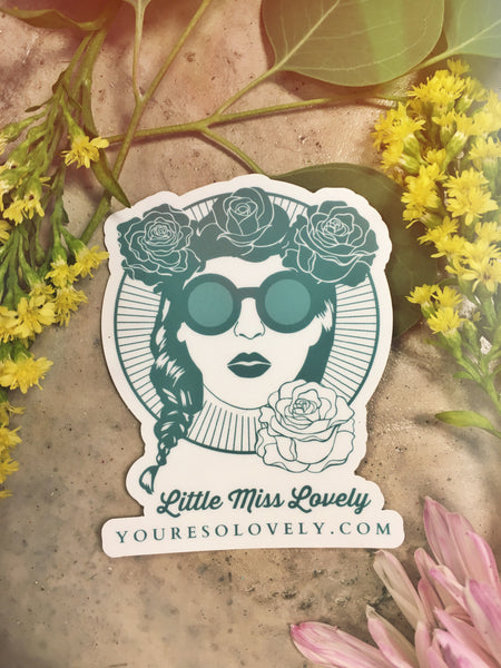 LML Flower Child Sticker