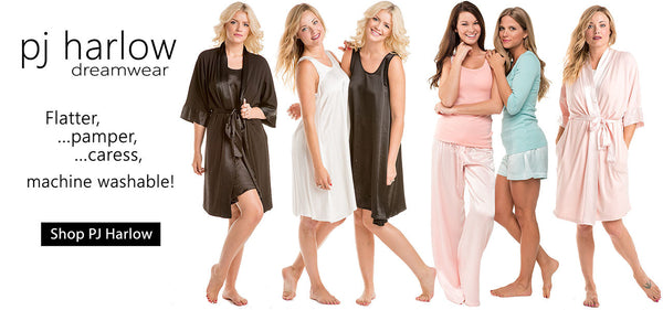 PJ Harlow Loungewear Offers Elegance, Comfort and Easy Care