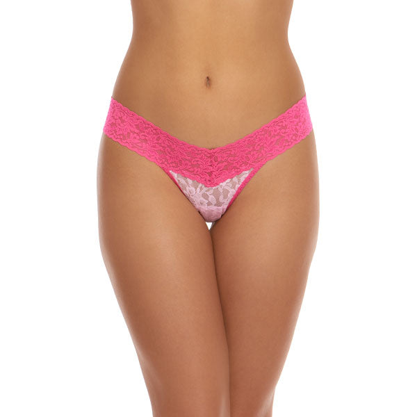 Hanky Panky Colorplay Petite Low Rise Thong 35106XS