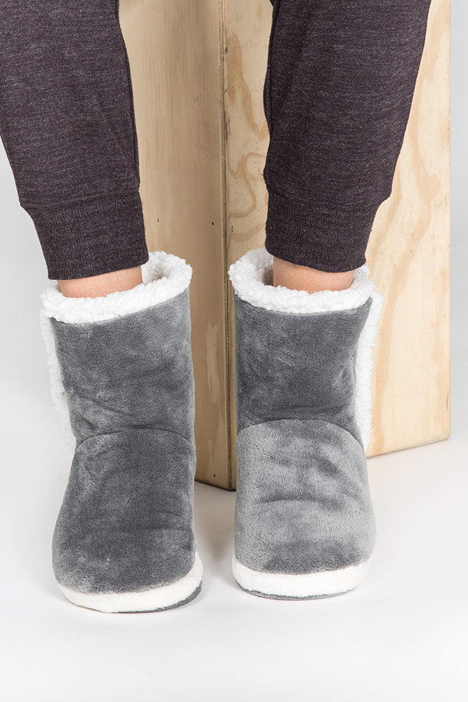 PJ Salvage Plush Bootie RKPLBO