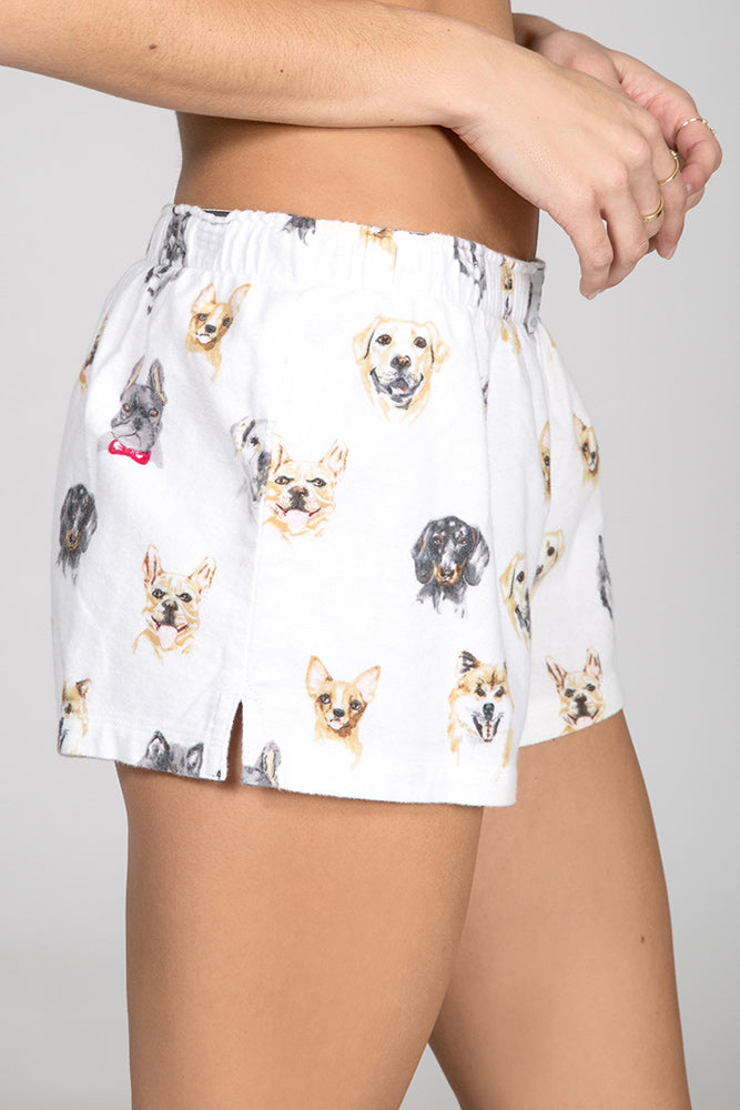 PJ Salvage Think Pawsitive Flannel Short RKDGS