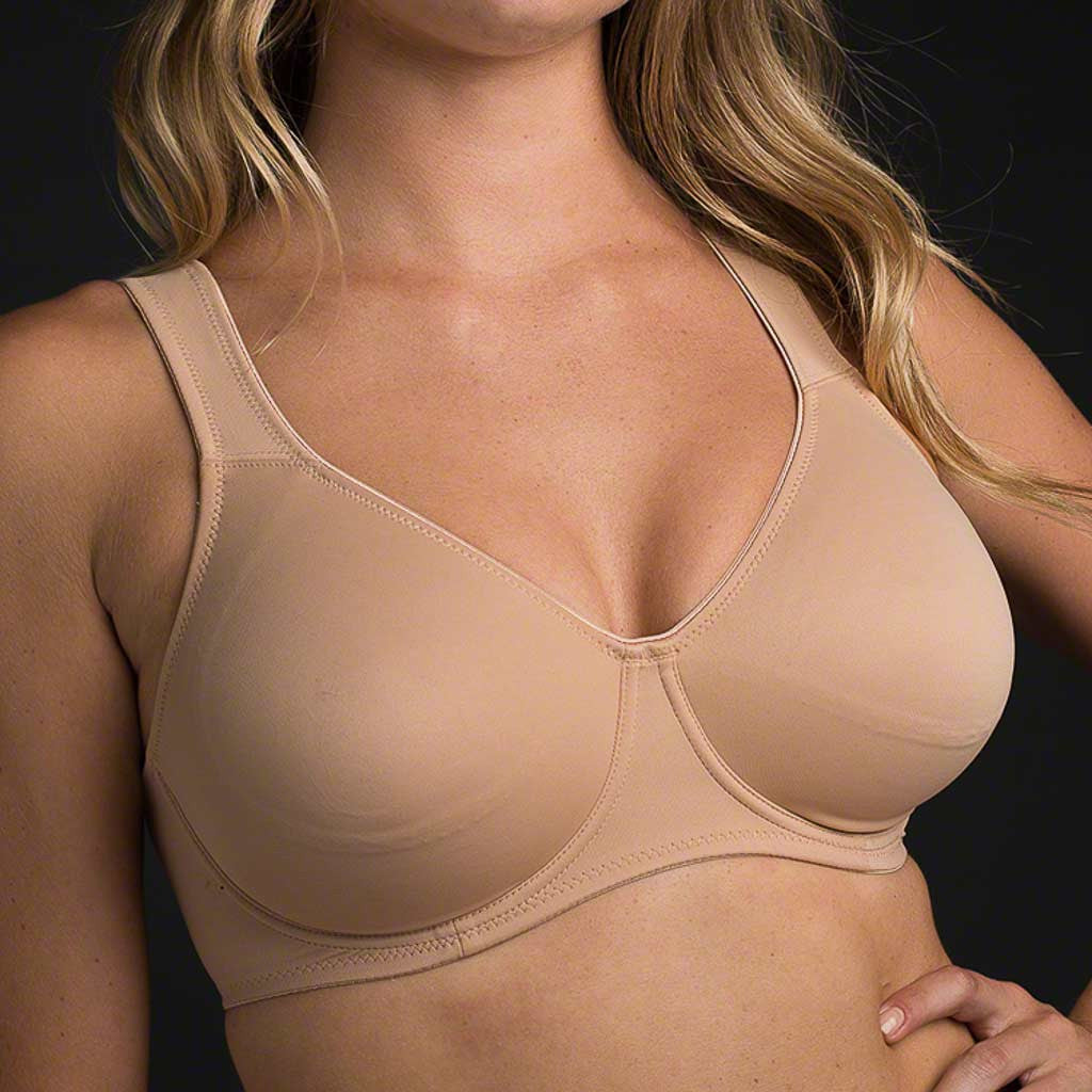 The Anita Rosa Faia Seamless Underwire Soft Bra 5490 an extremely soft double layered microfiber bra that molds to your body like a second skin.