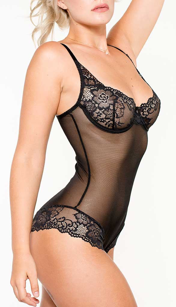 Arianne 2148 Catherine Sheer Teddy Bodysuit