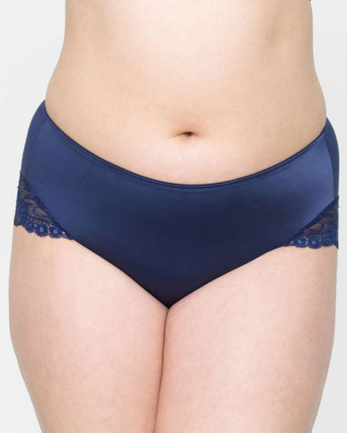 Curvy Couture Tulip Lace Hipster Panty 1169