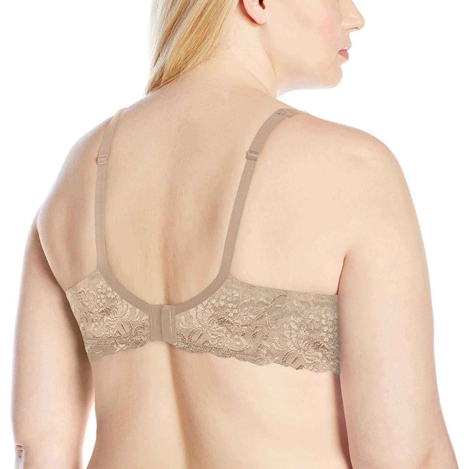 70a9a34490 Curvy Couture Lace Shine T-Shirt Bra 1102 - The Lingerie Store USA