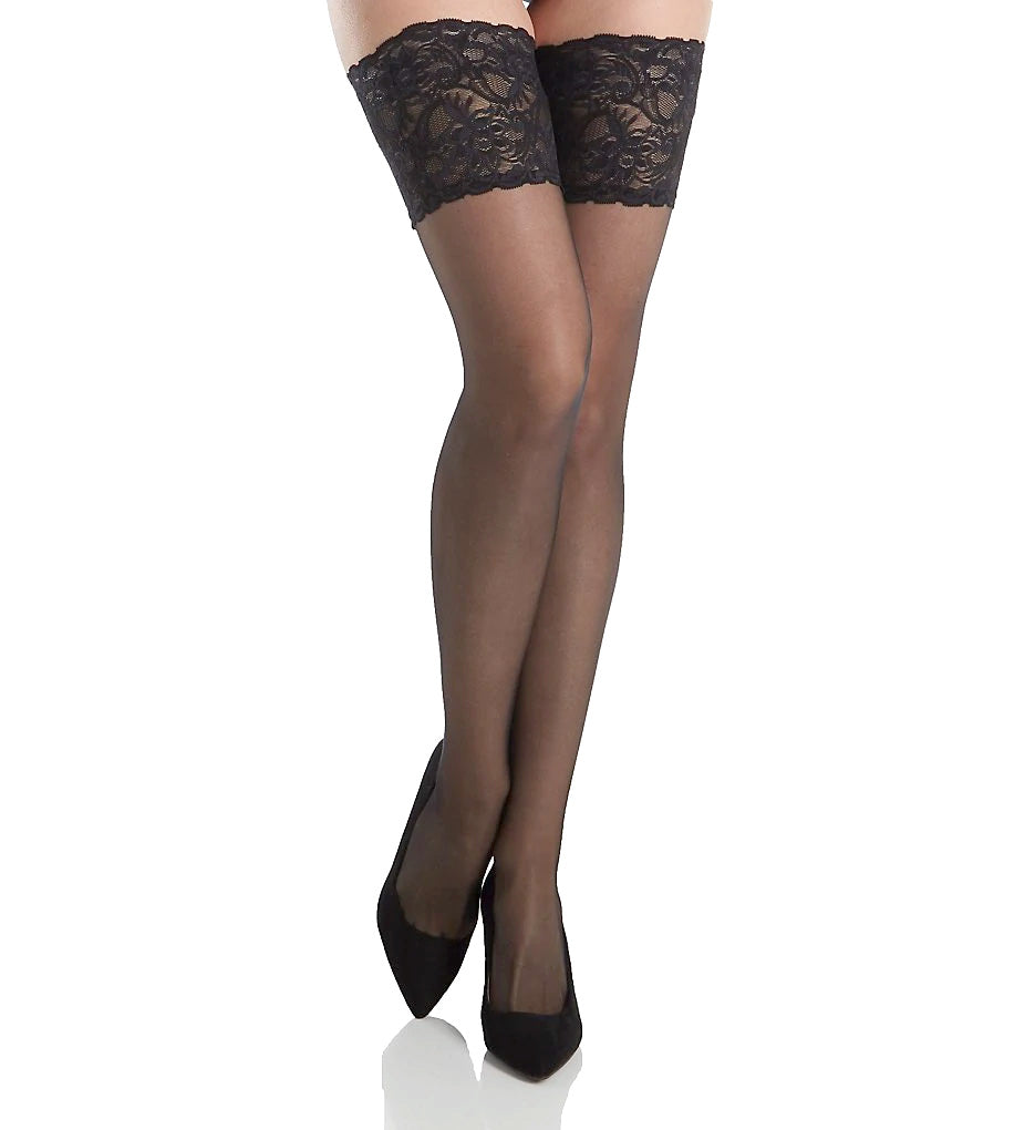 Falke Transparent Shining Stay-Up Thigh Highs 41590