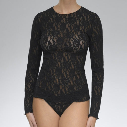 Hanky Panky Signature Lace L/S Top 128L