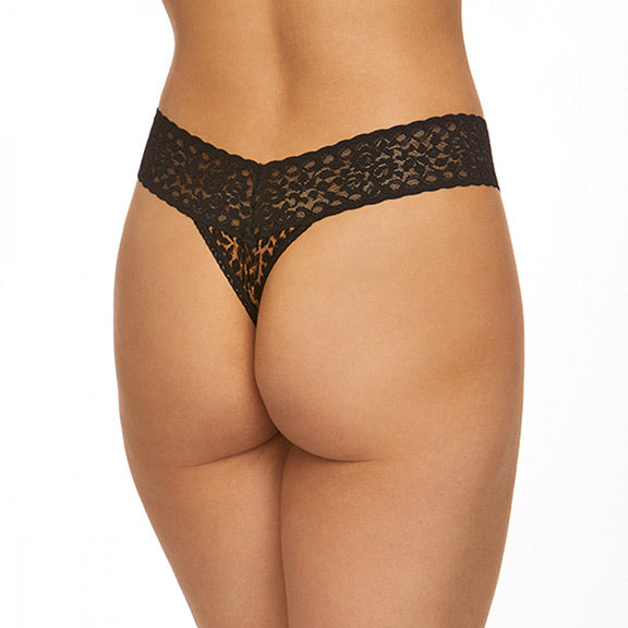 Hanky Panky Cat Nap Low Rise Thong 2M1584