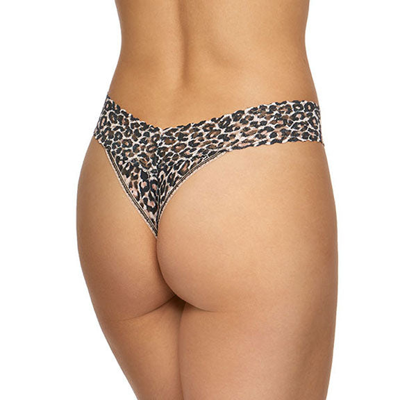 Hanky Panky Classic Leopard Original Rise Thong 2X1184