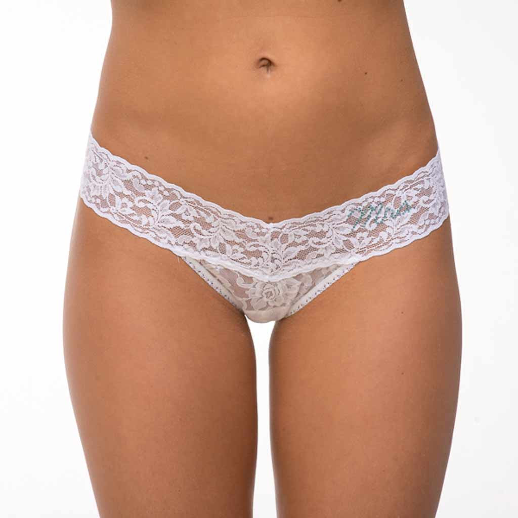 Hanky Panky 4810T2 Mrs. Low Rise Thong