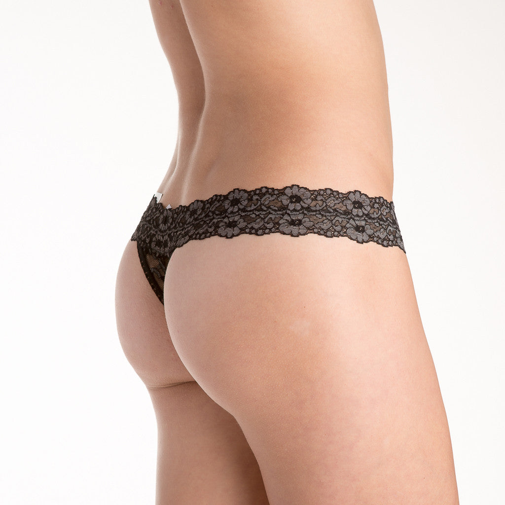 Hanky Panky 591054 Low Rise Cross-Dyed Thong