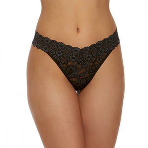 Hanky Panky Cross-Dyed Lace Original Thong 591104 - The Lingerie Store