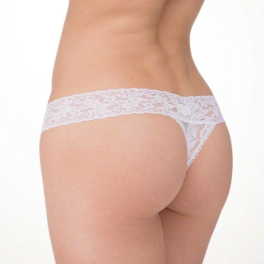 "Hanky Panky ""I Do"" Lace Low Rise Thong 6510"