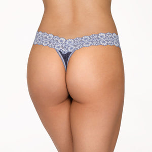 Hanky Panky Heather Jersey Low Rise Thong 681501