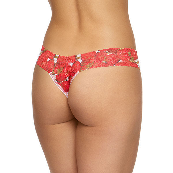 Hanky Panky Strawberries Low Rise Thong 6H1582