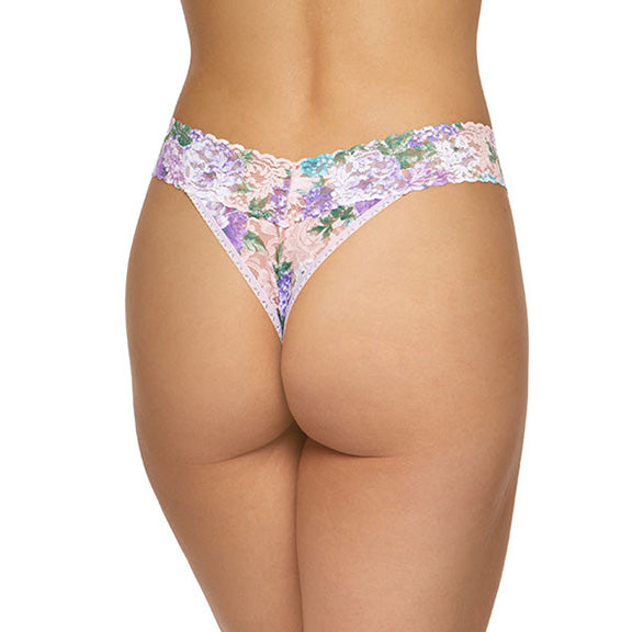 Hanky Panky Ashley Floral Original Rise Thong 701184