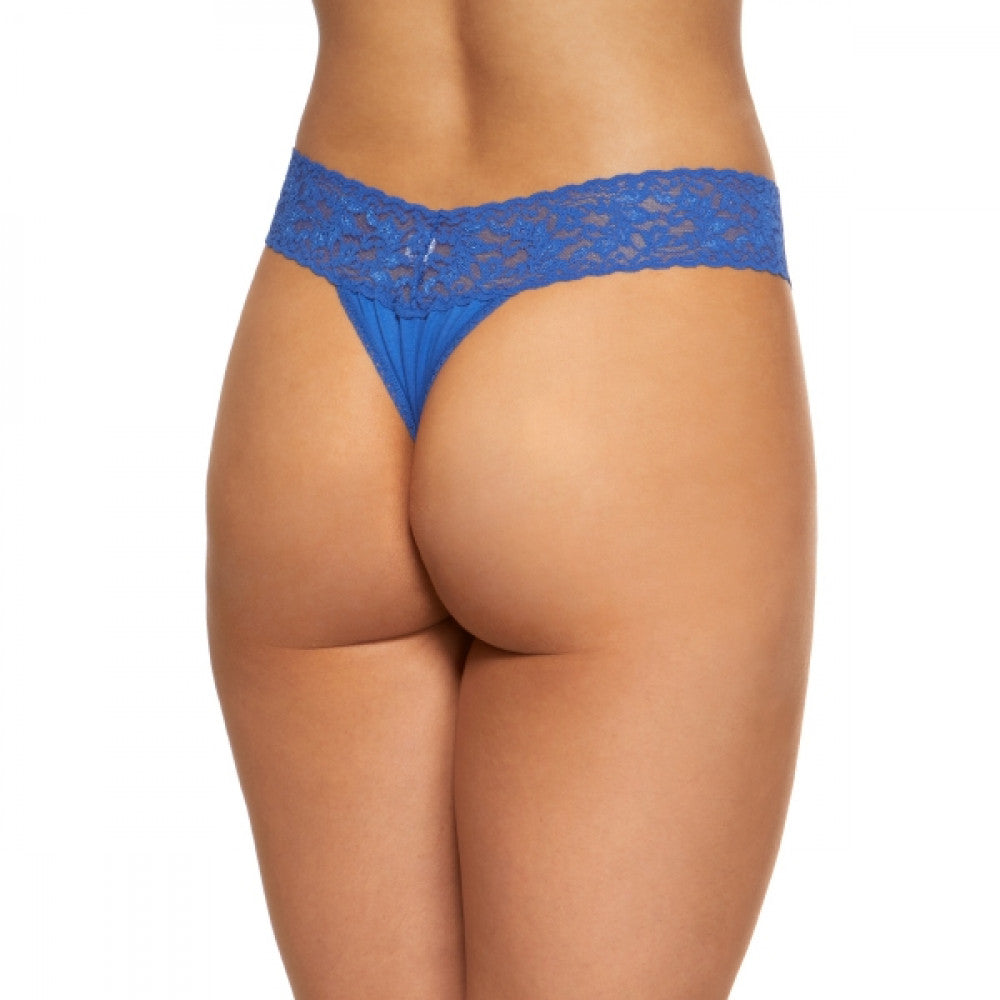 Hanky Panky Cotton Original Rise Thong 891801