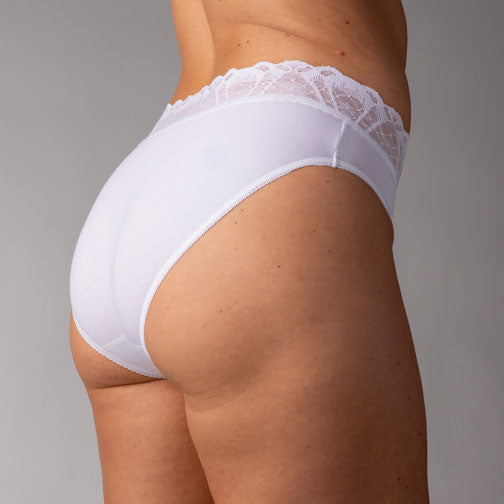 Hanky Panky Lace Trimmed Cotton French Brief 892464