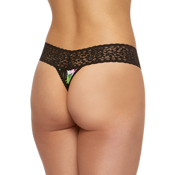 Hanky Panky Tropical Jersey Low Rise Thong 9F1582