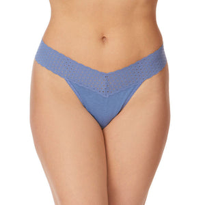 Hanky Panky Cotton With A Conscience Original Rise Thong 791101