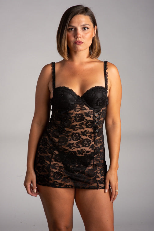 Jezebel Rachel Chemise With G-String 999910
