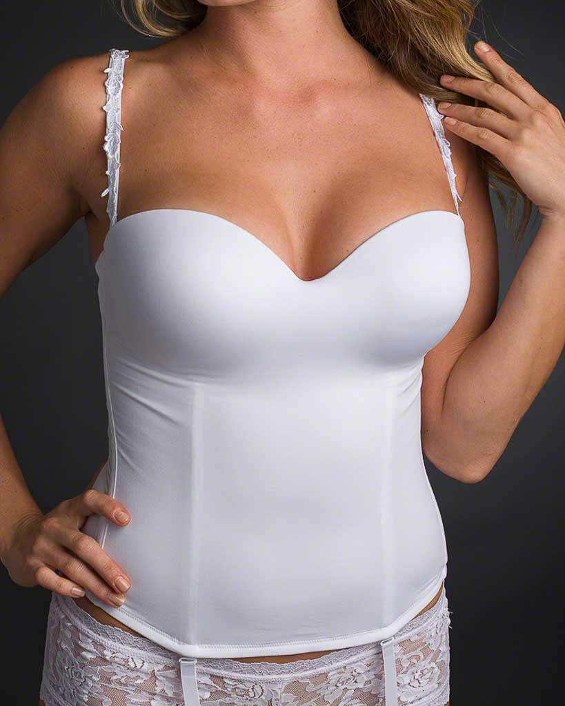Le Mystere Longline Bridal Seduction Bustier Strapless Bra 2355