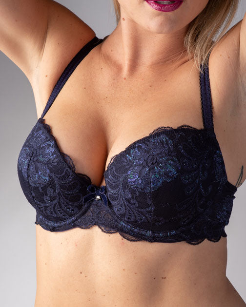 Le Mystere Sophia Lace Bra with Memory Foam 2435 - Seasonal Colors