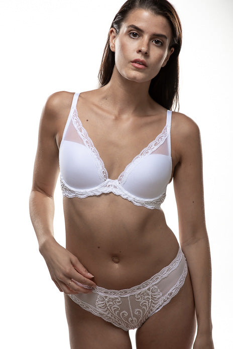 Natori Feathers Contour Bra 730023 - White & Seasonal Colors