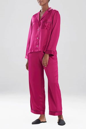 Natori Sleepwear Feathers Satin PJ Set H76057