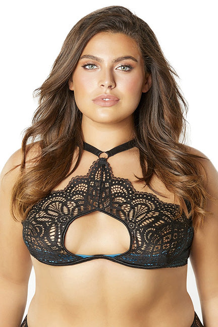 5f35c7e99 Oh La La Cheri Bernice Queen High Neck Bra 12-10803X