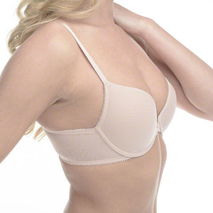 On Gossamer 3201 Bump It Up Mesh Push Up Bra