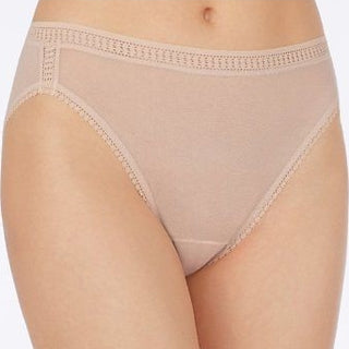 On Gossamer 3012 Seamless Mesh Hi Cut Brief