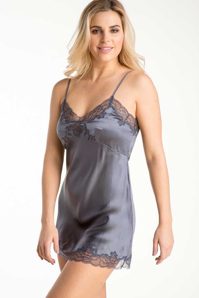 Only Hearts 30090 Silk Charmeuse Mini Slip