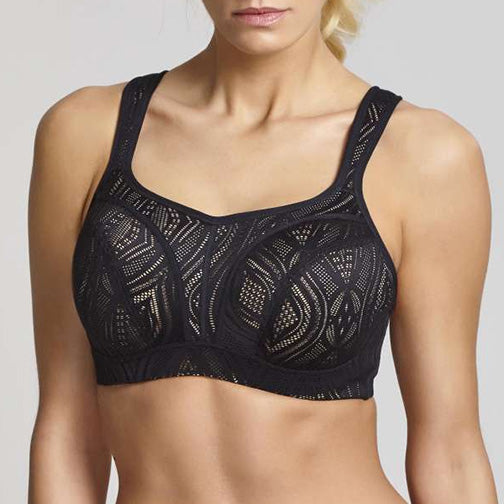 Panache Lingerie Lace Wired Sports Bra 5021C