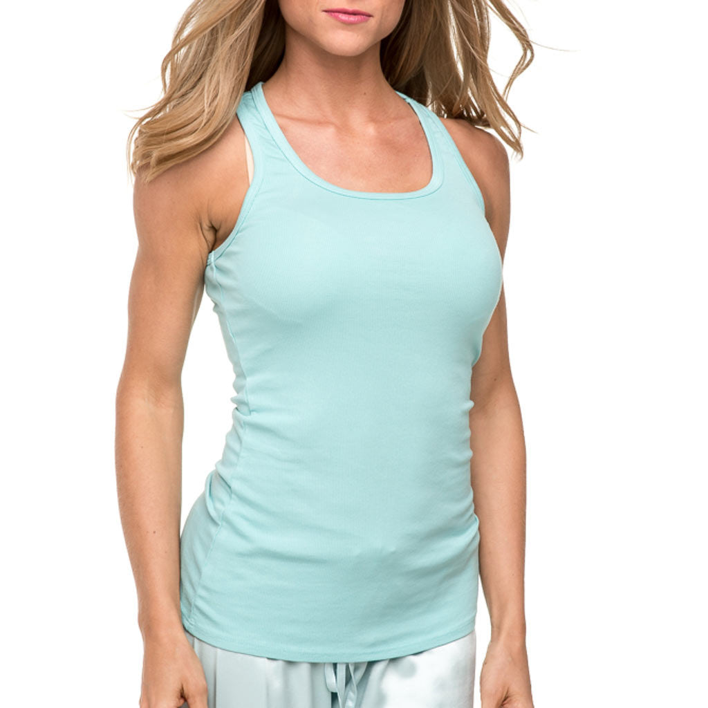 The PJ Harlow Charlie Racerback Tank T2006 is one of our best selling pajamas. The PJ Harlow collection is extremely comfortable and great for most sizes.