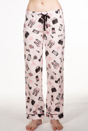 PJ Salvage Girl Boss Flannel Pant RKGBP