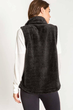 PJ Salvage Cozy Zip Vest RPCOV