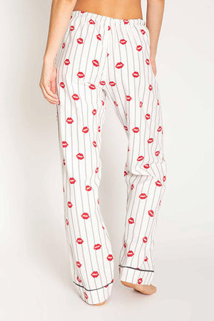PJ Salvage Kiss Me Goodnight Flannel Pant RPKSP