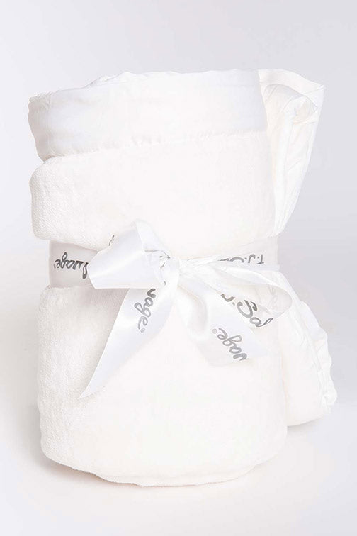 PJ Salvage Luxe Plush Blanket RPLPBL