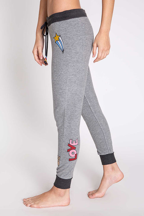 PJ Salvage Banded Peace & Love Jogger RPPLP2