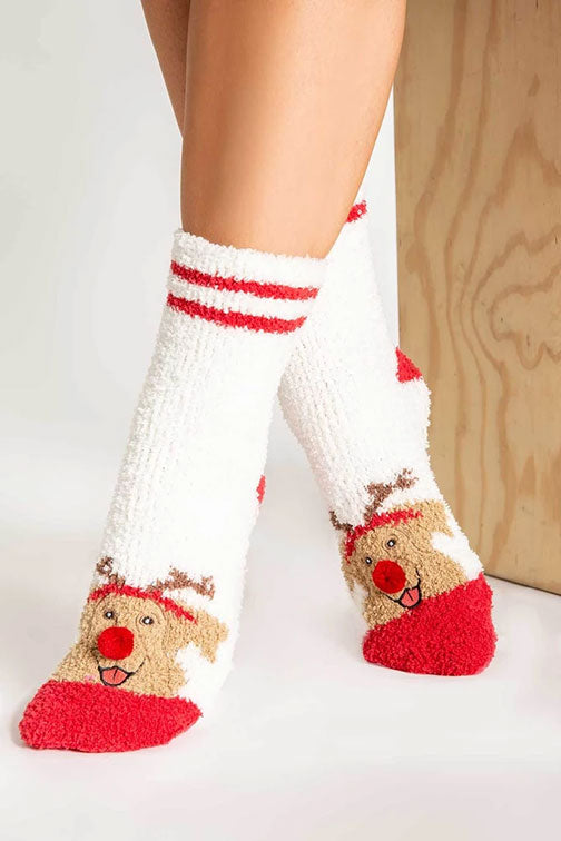 PJ Salvage Joyful Heart Dog Socks RQJHFX